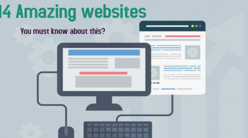 14 amazing websites