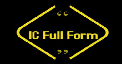 IC Full Form