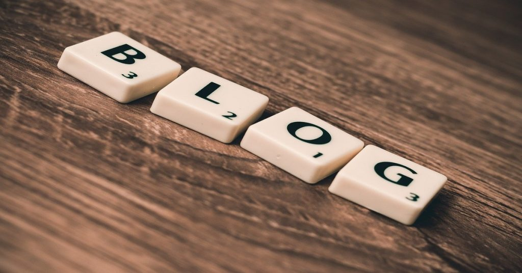 What is blog in Hindi