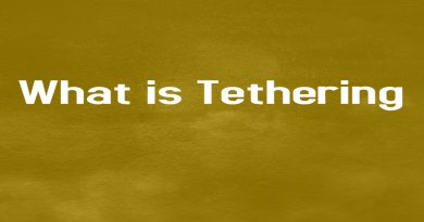 tethering meaning in Hindi
