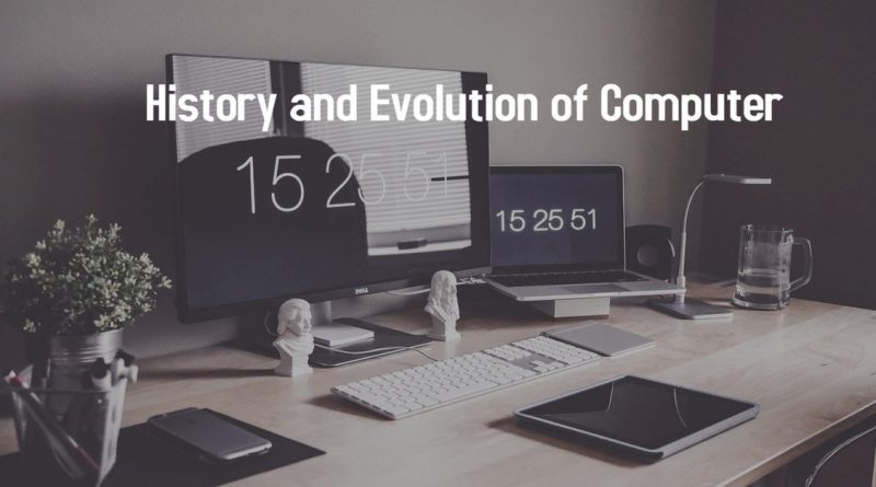 History and Evolution of Computer in Hindi