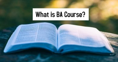 What is BA Course