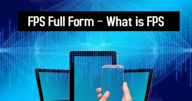 FPS Full Form – What is FPS
